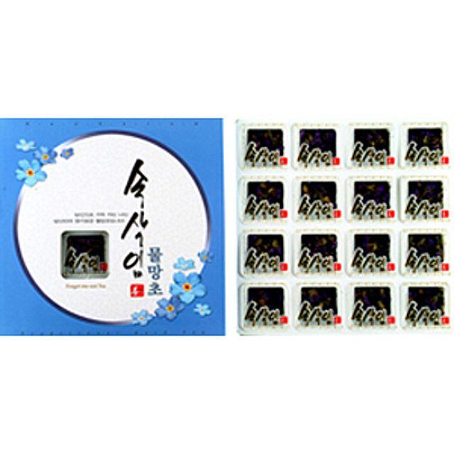 [더산쇼핑]프리미엄 속삭임 물망초차 16T 물망초차 허브차 전통차 꽃차 티타임 티백 차 tea 선물 집들이