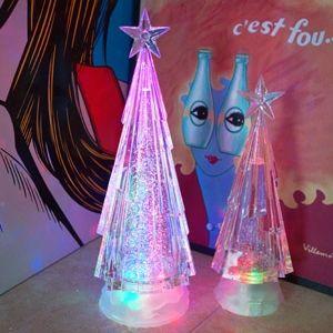 크리스마스 트리 멀티 LED 워터볼