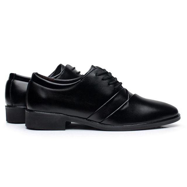 세련된 남자 정장 면접구두 로퍼 스트레이트팁 신발