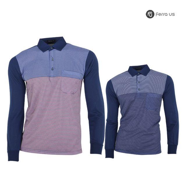 W TCC_페라어스 남성 골프 스판 디폴트 티셔츠 CTNE2022