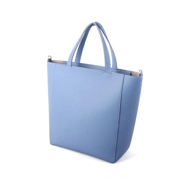 W 깔끔 심플 디자인 고급 원단 파스텔 색상 여자 가방