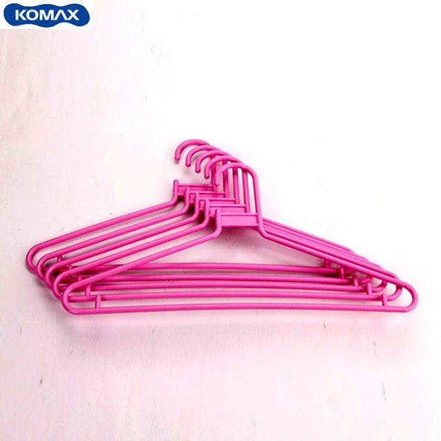 코멕스 이지 옷걸이(5pcs)-핑크 [제작 대량 도매 로고 인쇄 레이저 마킹 각인 나염 실크 uv 포장 공장 문의는 네이뽕]