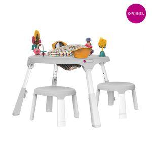 투 테이블 그레이 SET (의자 2개포함)