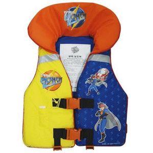 번개맨 조끼 35kg 물놀이용품 유아용 라이프재킷