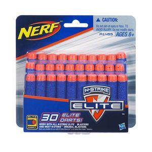 엘리트 30 다트 리필 너프건 총 장난감 총알 작동