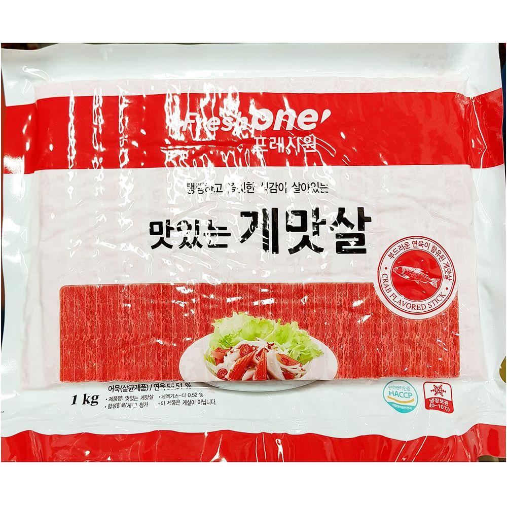간편 즉석 조리식품 FO 게맛살 1K_1 EA,게맛살,맛살,즉석식품,간식,안주