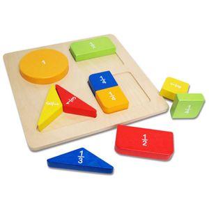 어린이집 원목 교구 도형 퍼즐 맞추기 수조작 영역