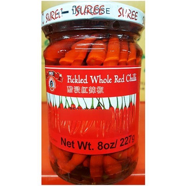 W15B996소스 식자재 칠리피클 빨강 절임 식품 227g 24EA,피클,고추피클,업소용식자재