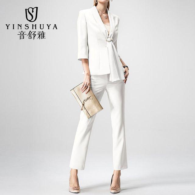 [해외] 여성 패션 재킷 자켓 정장세트 소매 전문 유니폼
