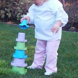 유아 컵쌓기 놀이 어린이집 유치원 감각발달 장난감