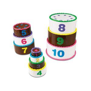 아이 학습 교구 스마트 수쌓기 케이크 어린이 장난감