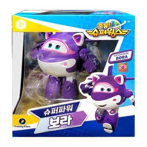 어린이 변신 비행기 로봇 장난감 슈퍼스윙스 보라