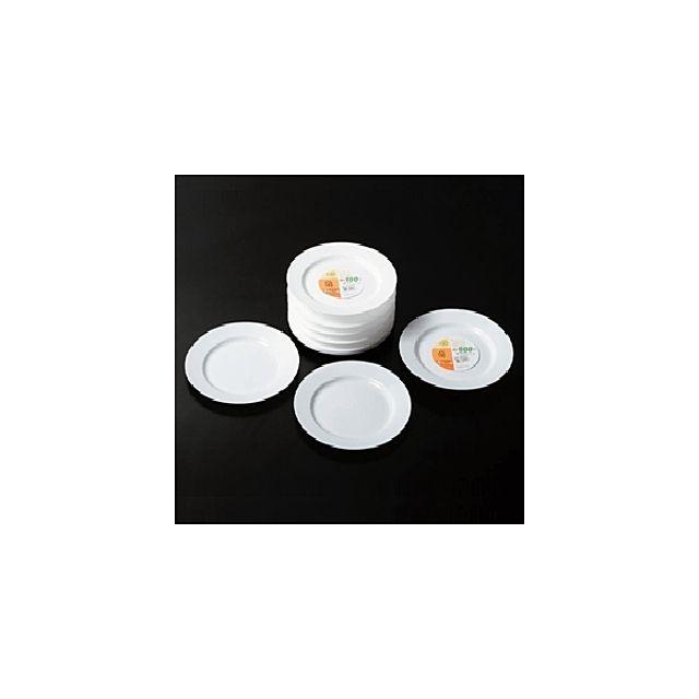 다회용 알뜰 접시 3호 4p 일회용그릇 일회용식기 일회용품 다회용그릇 1회용그릇