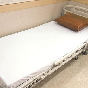 흰색 병원 시트카바 270x150 매트커버 침대 요양원