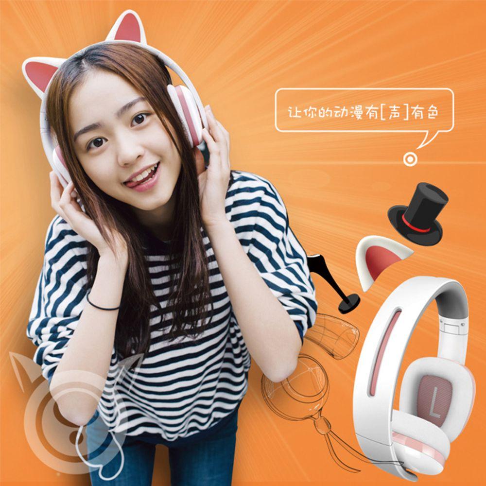 [더산직구]HOT신상 선물용 애니메이션 고양이 패션 이어폰/ 영업일 기준 5~14일 소요
