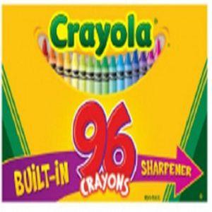 크레용 일반크레용 96색 크레용깎기부착 어린이선물