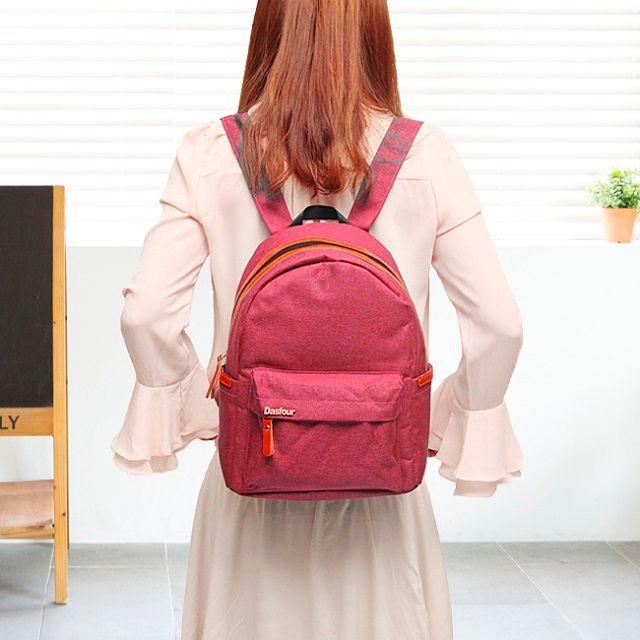 [현재분류명],트랜디하고 핫한 핑크 포켓 백팩,백팩,캐쥬얼백팩,가방