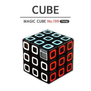 유닛키즈 매직 타이머 큐브 3x3x3 교육 완구 학습
