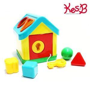 캐스B 튼튼 열쇠 블럭도형 하우스