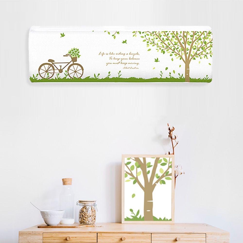 에어컨커버 벽걸이형 원룸형 숲속나무-보호 덮개 카바