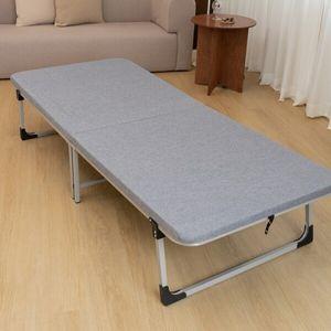1인용 침대 접이식 간이형 폴딩베드 사무실 이동식