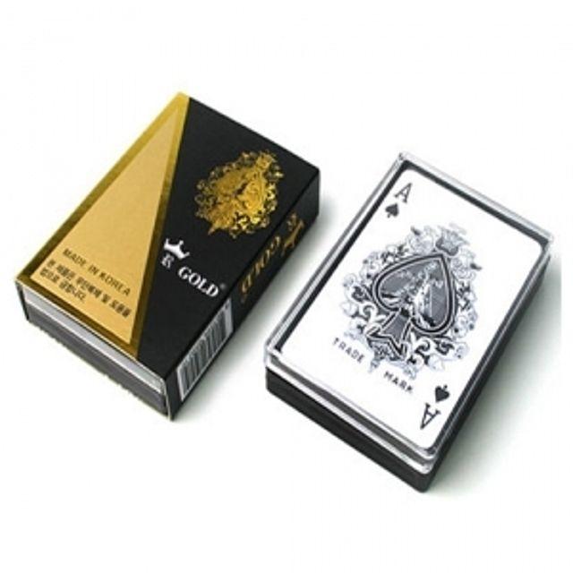골드 트럼프 카드 원카드 조커게임 카드게임 보드게임 포카 훌라 [제작 대량 도매 로고 인쇄 레이저 마킹 각인 나염 실크 uv 포장 공장 문의는 네이뽕]