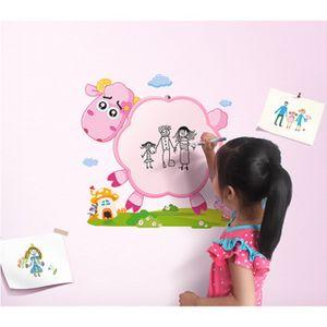 월엘프 늑대와양 학습 보드판 유아방 포인트벽지 겸용 아동 아기 장난감 인테리어