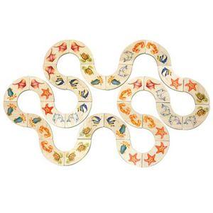 장난감 브알라 마린 도미노 패턴보드