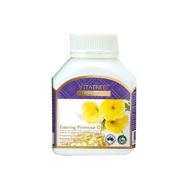 [해외] 호주 비타트리 달맞이꽃 종자유 1000mg 120캡슐