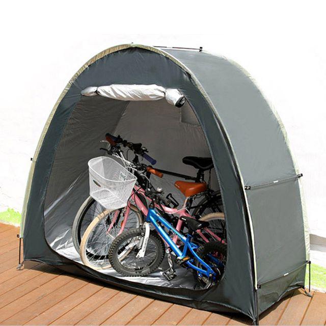 W 바이크 자전거 바이크 휴대용 주차장 보관 창고 텐트