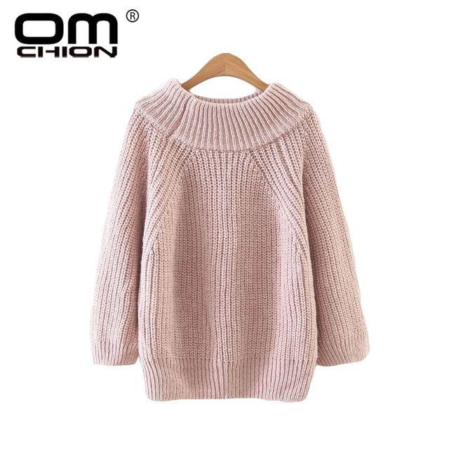 [해외] Omchion roupas feminina 2018 가을 슬래시 넥 오프