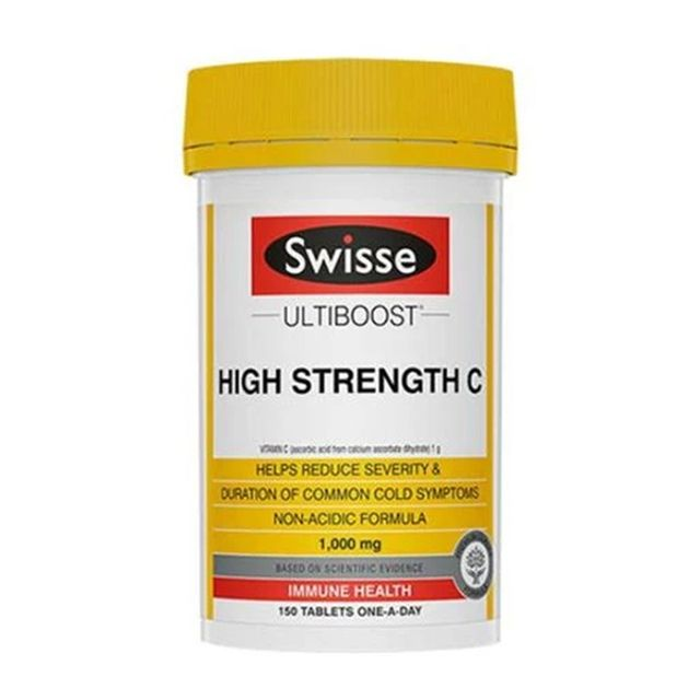 [해외] Swisse High Strength vitaminC 비타민C 1000mg 150정