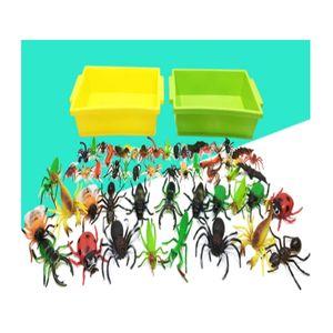 소프트 곤충 학습 교구 완구 모형 장난감 56종 세트