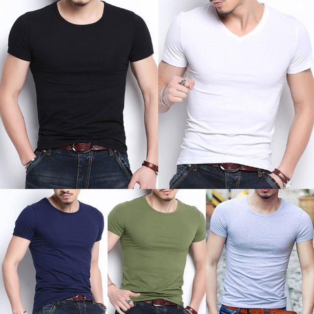 W 남성 초기본 멋스러운 느낌 5컬러 반팔 티셔츠