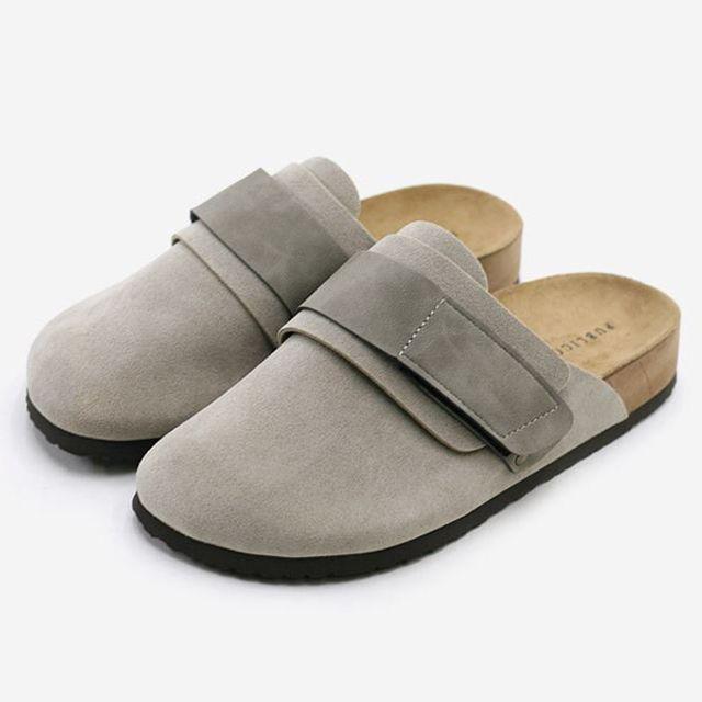 W 남성 BK-랠리 슬리퍼 봄가을신발 편한신발 2컬러