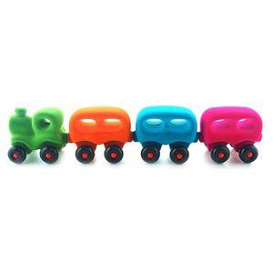 포근한 유아 안전 자석기차 장난감