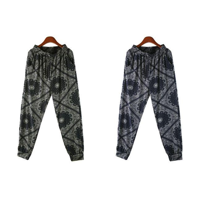 W 타잉 패턴 여성 쿨 조거팬츠 SD-210511