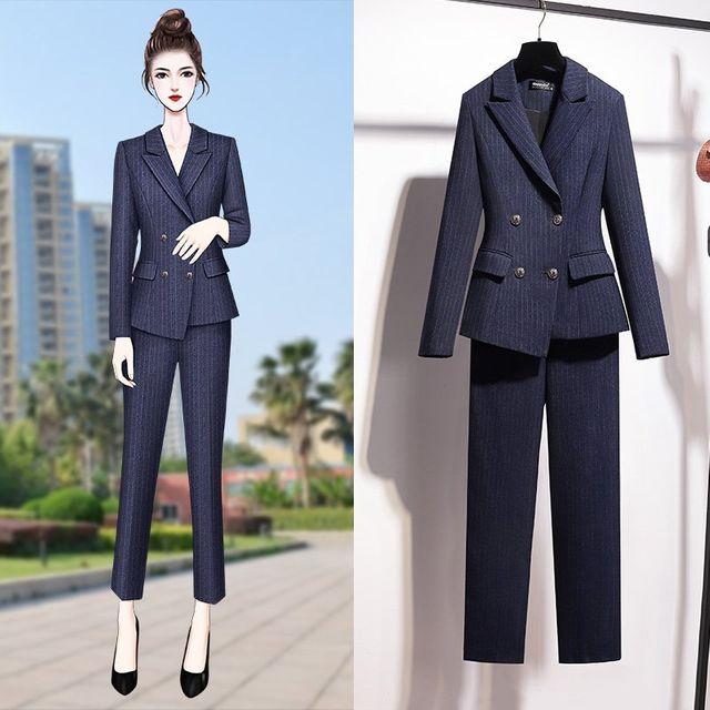 [해외] 여성 패션 재킷 자켓 정장세트재킷의 한국어 버전