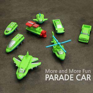 어린이 장난감 변신 퍼레이드카 자동차 자석 블록