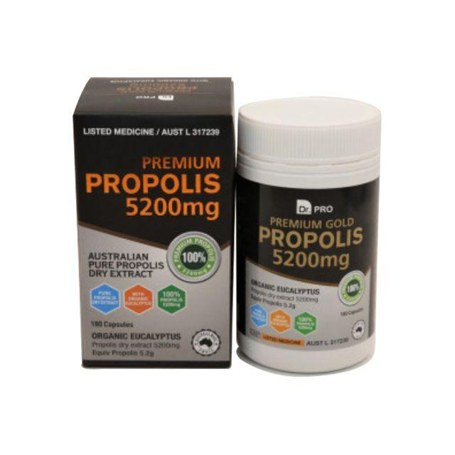 [해외] 호주 닥터프로 프로폴리스 추출물 5200mg 180캡슐