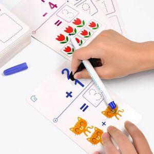 어린이날 조카 선물 완구 쓰고 지우는 활동 카드 연산