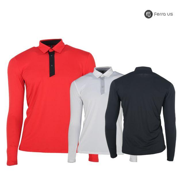 W TCC_페라어스 남성 플래킷 카라 골프 티셔츠 CTMP2600