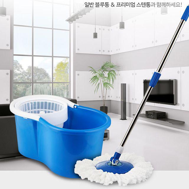 물걸레청소기 파워A-02 청소밀대 물청소기 대걸레 통