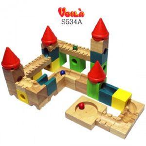 건축물모형블럭 캐슬미로블록 어린이 선물 장난감