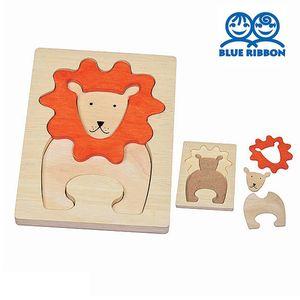 아이 장난감 사자 그림 퍼즐 원목 교구 어린이집