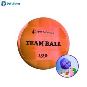 아이워너 팀볼 100CM 레드 학교 체육 놀이 킨볼게임 D