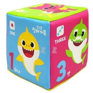 아기상어 미니 주사위 공 놀이 운동 어린이 장난감