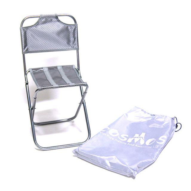 코스모스 레저용 의자-등받이의자-그레이미니의자