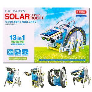 13종 태양광로봇 IQ사이언스 태양에너지 조립작동완구
