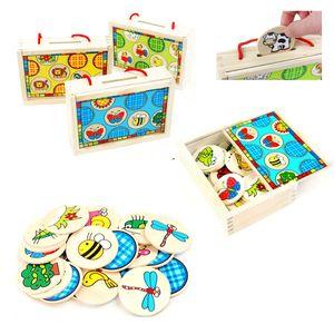 어린이집 동물 퍼즐 교구 상자 학습능력 도움 놀이